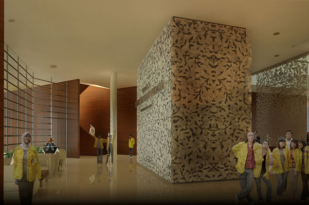 BUILDING X FACULTY OF CULTURAL SCIENCES UNIVERSITY OF INDONESIA