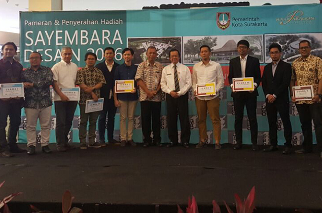 Pemenang kedua Sayembara Gedung Wayang Orang Surakarta
